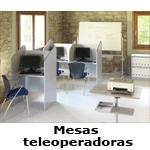 Mesas para teleoperadoras