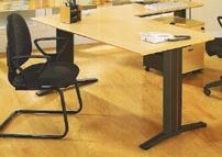 Mesa de oficina recta 120*80*74 - Mesa de oficina recta de 120cm de largo x 80cm de ancho x 74cm de alto.