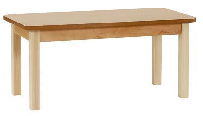 Mesa madera geriátrico 55 cm. de alto - Estructura en madera de haya maciza de 1ª calidad, sin nudos, con ensambles ocultos, patas de 55 x 55. Barnizado con poliuretano.Pulse sobre la foto para ver mas detalles.Pulse sobre la foto para mas info.
