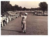 "Cuadro Ben Hogan (Golf) - ""Tema: """"El hierro uno de Ben Hogan."""""""