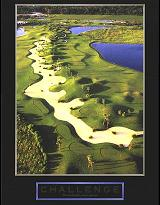 "Cuadro Challenge (Golf) - ""El texto del cuadro dice: """"We will either find a way or make one."""""""