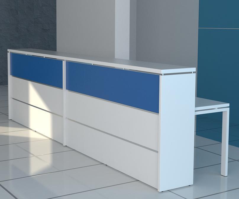 Recepci n de dise o mobiliario de oficina recepciones for Muebles de recepcion de oficina