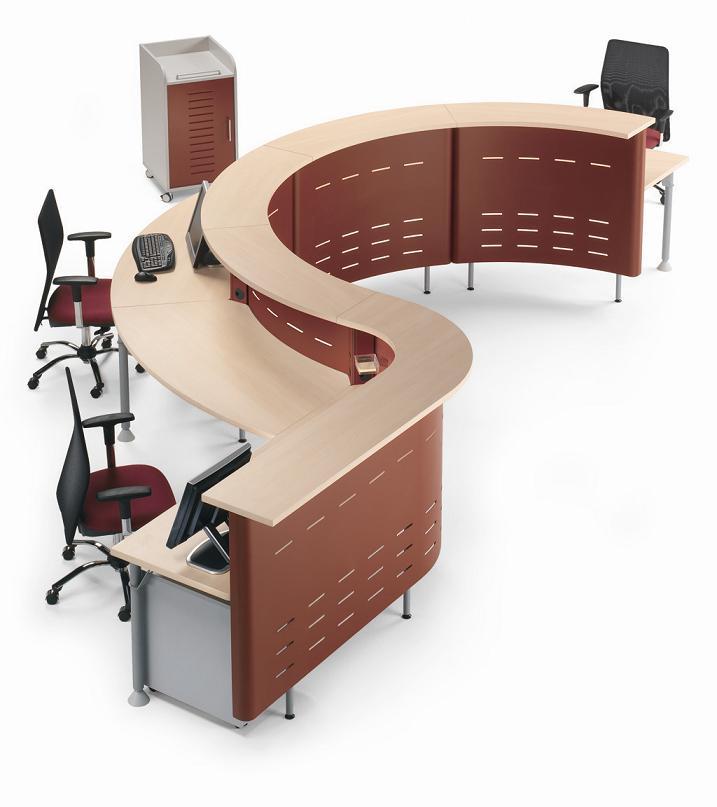 Muebles recepcion vidrio 20170821210920 for Sillas oficina valladolid