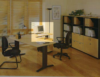 Ala de mesa de oficina 100*60*74 - Ala de mesa de oficina de 100cm de largo x 60cm de ancho x 74cm de alto.
