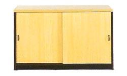 Mueble de oficina credencia 74*120*45 - Mueble de oficina credencia con estante de 74cm de alto x 120cm de ancho x 40cm de profundidad.