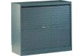 Armario de persiana con puerta horizontalal - Armario de persiana con puertas horizontales con 2 estantes. Medidas 105cm de alto x 102cm de ancho x 45cm de fondo