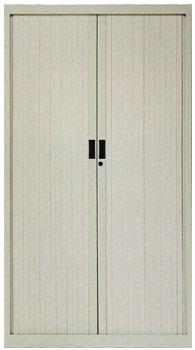Armario de persiana con puerta vertical - Armario de persiana con puertas verticales con 3 estantes. Medidas 160cm de alto x 102cm de ancho x 45cm de fondo