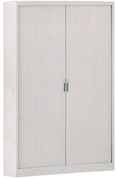 Armario de persiana con puerta vertical - Armario de persiana con puertas verticales con 4 estantes. Medidas 200cm de alto x 80cm de ancho x 45cm de fondo