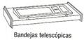 Bandeja telescópica - Bandeja telescópica. Medida 120cm de largo