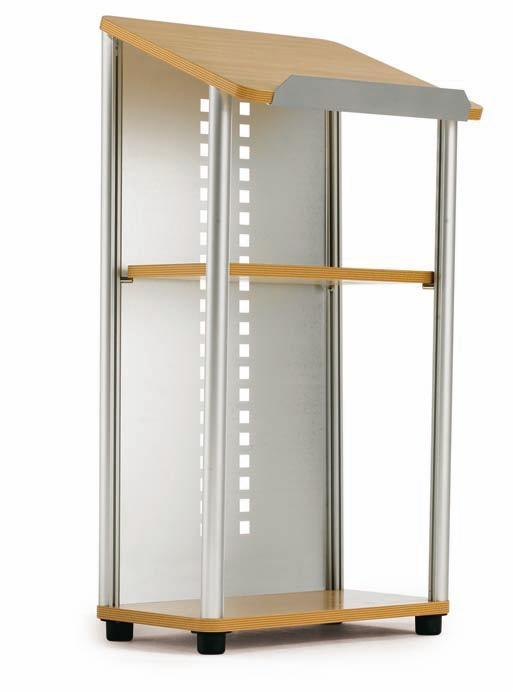 Atril de aluminio para conferencias muebles de oficina - Muebles atril ...