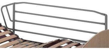 Barandilla - Barandillas plegables con sistema de desbloqueo manual mediante tirador.