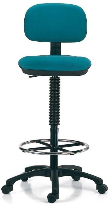 Taburete muebles de oficina sillas de oficina for Sillas de escritorio altas