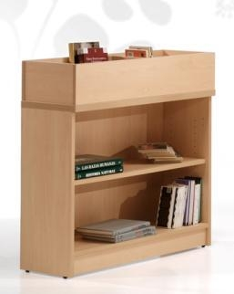 Estantería de biblioteca - Mueble de biblioteca Medida: 77 alto x 92 ancho x 32 fondo