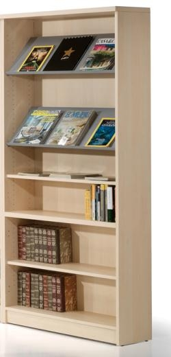 Estantería biblioteca - Estantería para biblioteca Medidas: 208 alto x 92 ancho x 32 fondo