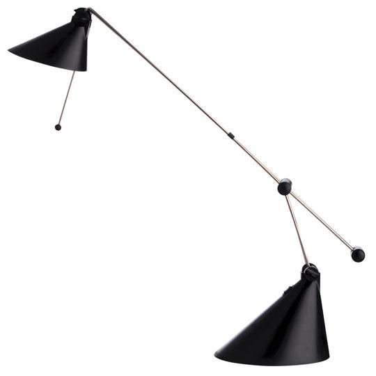 Lámpara halógena - Lámpara 130 x 90 x 520 mm (fondo x ancho x alto) Características:Voltaje: 230 Volt. / 50 hz. Base lámpara: 160x170x130 mm.
