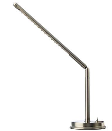Lámpara Leds - Lámpara 130 x 195 x 345 mm (fondo x ancho x alto) Características:Brazo ajustable Formato de Papel:230 V / 50 Hz / 1.9W 30 LED´S x Max. 0.064 W