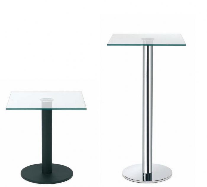 Mesa auxiliar cuadrada muebles de oficina sillas de for Mesa auxiliar oficina