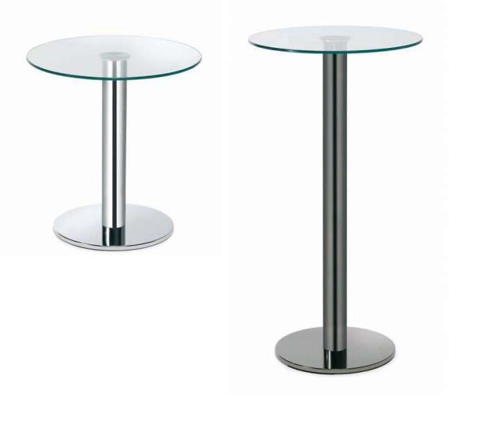 Mesas auxiliares redondas muebles de oficina sillas de for Mesa auxiliar oficina