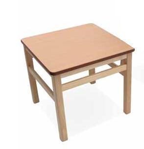 Mesa geriátrica - Mesa geriátrica. Mesa de rincón auxiliar complementaria a sillas y sillones de nuestra colección en madera.
