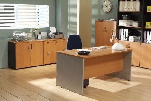Mesa de oficina basic 120*80*74 cm. - Mesa de oficina l�nea basic -120 cm. de larga x 80 cm. de fondo x 74 de altura -canteada en pvc anti-golpes