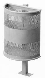 Papelera - Papelera exterior 450x225x540X800 mm