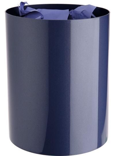 Papelera - Papelera  Capacidad 17 l. Colores metalizados. Medidas:260 x 335 mm (fondo x ancho x alto) Apilable.  Se le pueden añadir hasta cuatro selectores que pueden ser colocados tanto en el interior como en el exterior y que aumentan su capacidad en 4 l. cada uno (opcional).