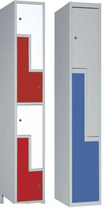 Taquilla puertas en L - Taquilla con puertas en L