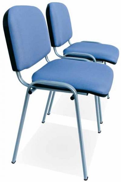 Silla geri�trico - Silla geri�trico Asiento y respaldo tapizado en tela vin�lica sobre espuma de poliuretano. Estructura de acero pintada epoxi aluminio.