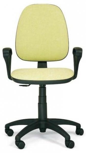 Silla de oficina - Silla operativa ergonómica. Mecanismo contacto permanente. Regulación en altura del respaldo, y de profundidad del asiento, base en poliamida y brazos en poliuretano.