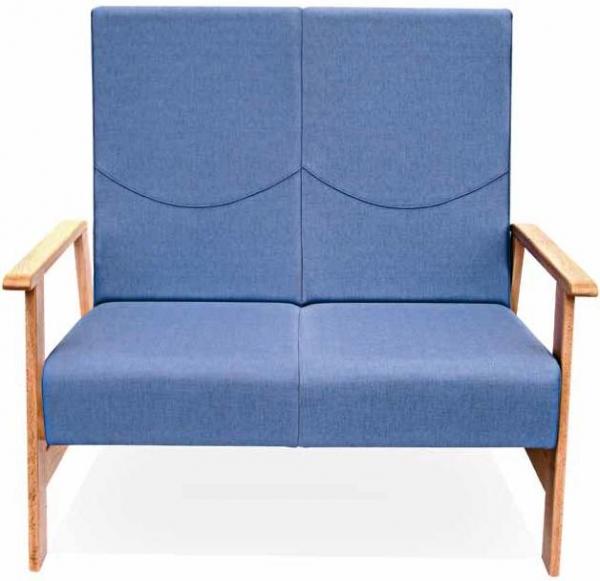 Sill�n geri�trico - Sof� geri�trico Destaca por el volumen de su acolchado en asiento y respaldo. Perfecto para integrar en cualquier proyecto de zonas de relax, descanso y espera.  Respaldos y asientos individuales por plaza.