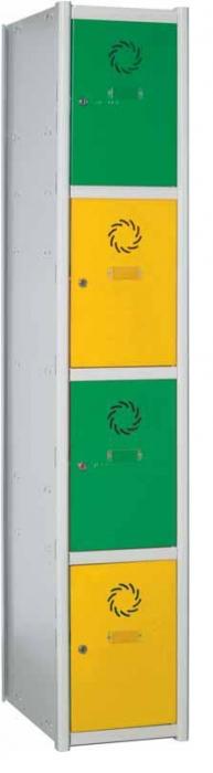 Taquilla modular - Taquilla modular 4 puertas.