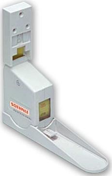 Tallímetro mecánico de pared - Tallimetro mecánico de pared. De fácil manejo y ligero. Fijación a pared mediante tornillos. Altura: 0-220 cts. División: 1 mm