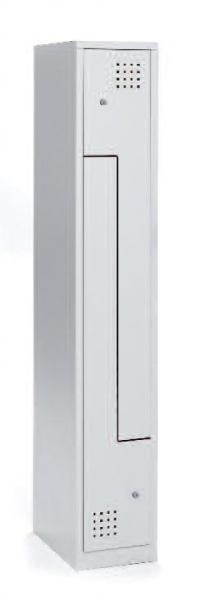 Taquilla metálica - Taquilla metálica Fabricadas en chapa de acero laminada en frío. Estructura soldada. Bandeja superior y colgador de perchas. Posibilidad combinación con otros materiales. Puertas enmarcadas en todo su contorno. Amplia  gama de colores.