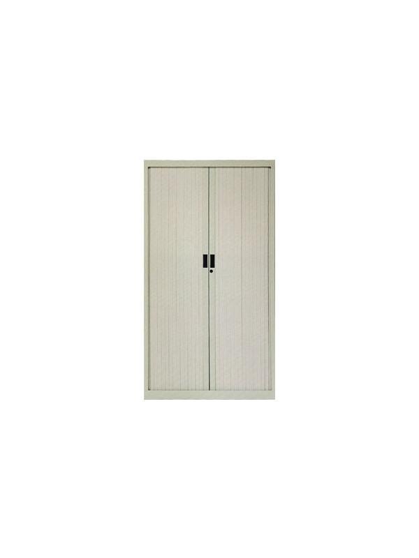 Armario de persiana con puerta vertical - Armario de persiana con puertas verticales con 3 estantes. Medidas 160cm de alto x 120cm de ancho x 45cm de fondo