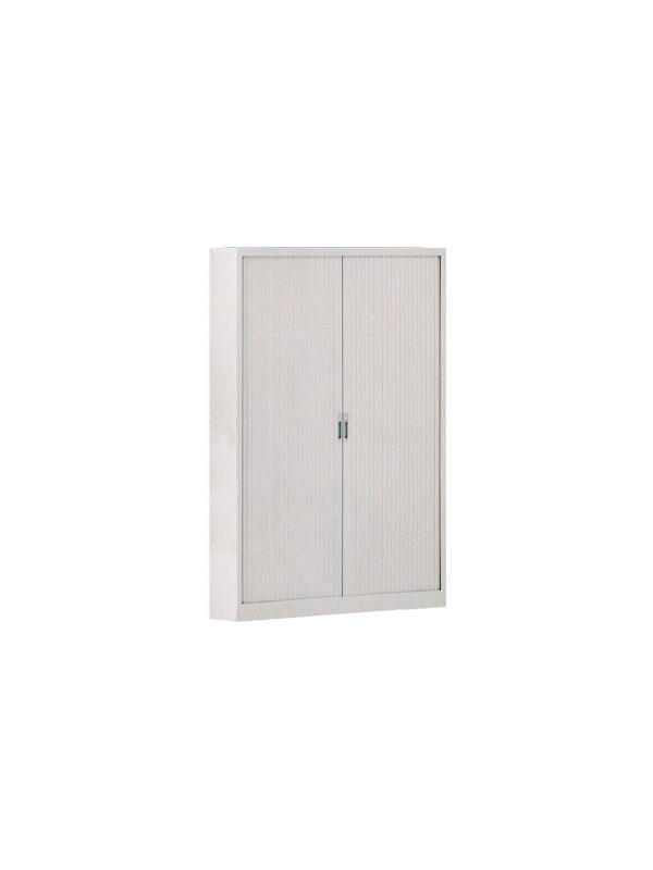 Armario de persiana con puerta vertical - Armario de persiana con puertas verticales con 4 estantes. Medidas 200cm de alto x 120cm de ancho x 45cm de fondo