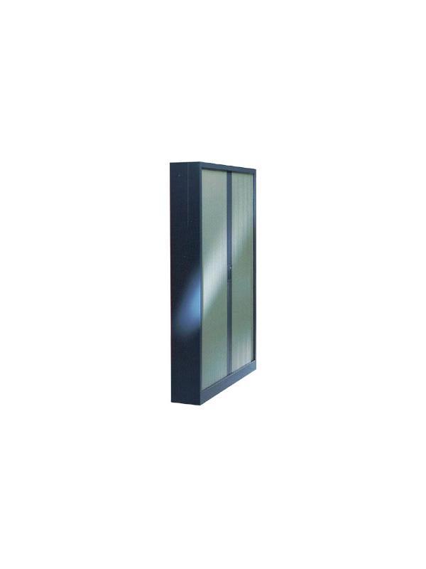 Armario de persiana con puertas verticales - Armario de persiana con puertas verticales con 4 estantes. Medidas 220cm de alto x 120cm de ancho x 45cm de fondo