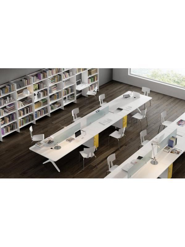 Composición nº 5 de la serie Barcelona - Composición de muebles de la serie Barcelona, ejemplo de distribución de esta nueva serie de mobiliario, mientras introducimos todos los detalles, por favor solicite mas información por teléfono o mail.