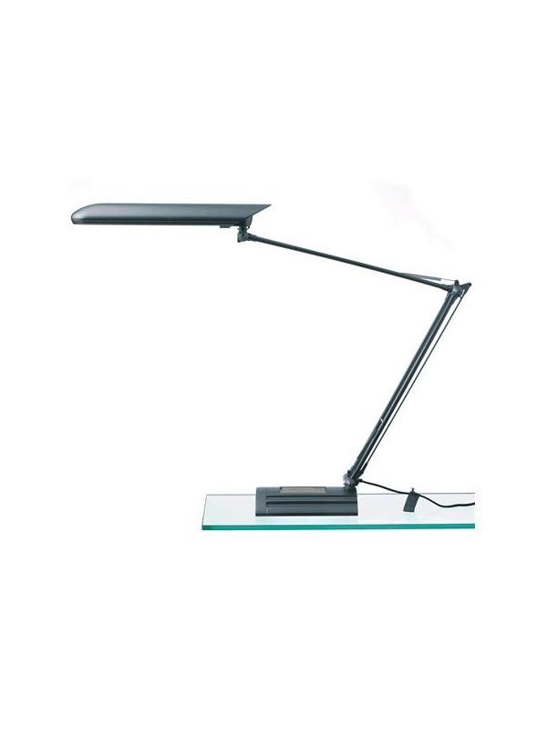 Lámpara fluorescente - Lámpara 410 x 410 x 370 mm (fondo x ancho x alto) Características:Su largo brazo proporciona una excelente iluminación en el lugar de trabajo Bajo consumo Medidas base: 190 x 130 x 40 mm.  Se suministra con mordaza y base.