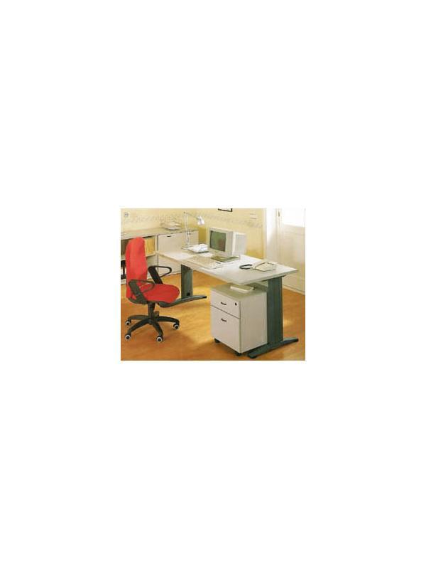 Mesa recta 100*80*74 - Mesa recta de 100cm de largo x 80cm de ancho x 74cm de alto.