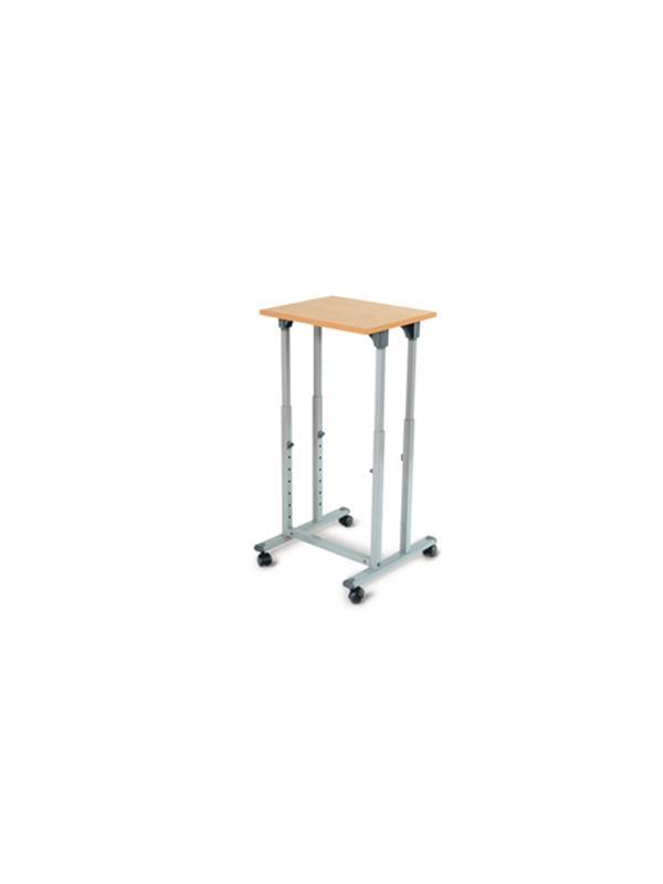 Mesas multifunción - Superficie :50 x 48   Altura regulable : de 69 a 99 cm