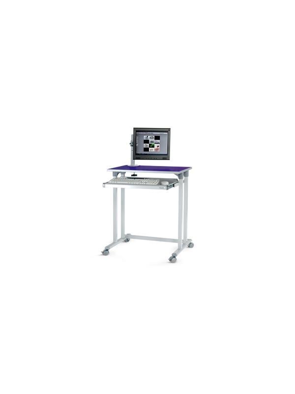 Puesto informático - Superficie: 68x48  Altura: 81 cm  Carga máxima: 50 kg
