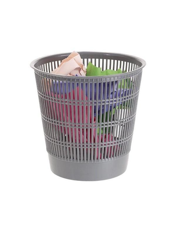Papelera - Papelera Capacidad 13 l. Colores opacos. Medidas:300 x 295 mm (fondo x ancho x alto) Apilable.