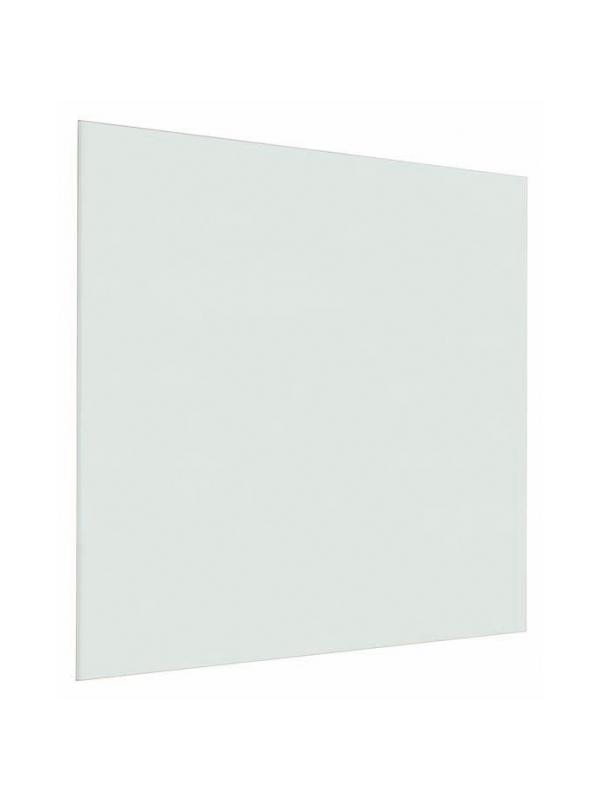 Pizarra mural de vidrio - Pizarra mural de vidrio Pizarra de vidrio laminado de 4 mm. traslúcido sin marco. Superficie rotulable con rotuladores de borrado en seco. Incorpora elementos de fijación a pared. La versión con soporte lleva marco de aluminio. Disponible en color verde y naranja.