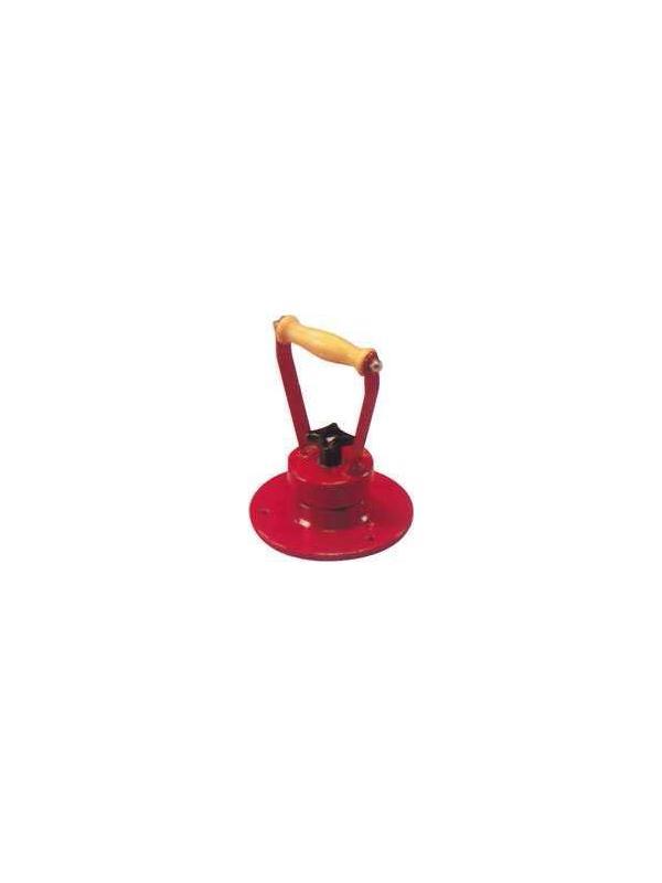 Aparato pronosupinador - Aparato pronosupinador. Para ejercicios de pronación y supinación de muñecas. Regulación de esfuerzo mediante freno de disco. Empuñadura de madera de haya barnizada.