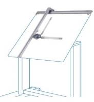 T�cnigrafos de aluminio - Tecn�grafos de aluminio de gran calidad. Incorpora grupo goni�metro de 360� y pulsadora de saltos a cada 15�. F�cil montaje.