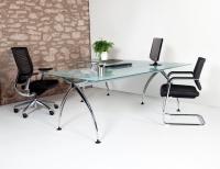 Mesa recta 140*80*74 - Nueva linea de diseño, con estructura cromada, tapa en tablero melaminado o cristal, soliciten mas información mientras actualizamos la web.