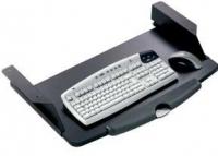 Soporte teclado - Soporte para teclado y ratón de estructura metálica y reposamuñecas de diseño. Fácil montaje.