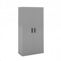 Armario de puertas batientes, con 4 estantes - Armario de puertas batientes, con 4 estantes. Medidas 2000 de alto x 1200 de ancho x 450 de fondo
