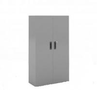 Armario de puertas batientes, con 3 estantes - Armario de puertas batientes, con 3 estantes. Medidas 1460 de alto x 1000 ancho x 450 de fondo