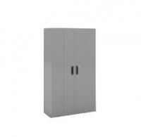 Armario de puertas plegables, con 4 estantes - Armario de puertas plegables con 4 estantes. Medidas 2000 de alto x 1200 de ancho x 450 de fondo